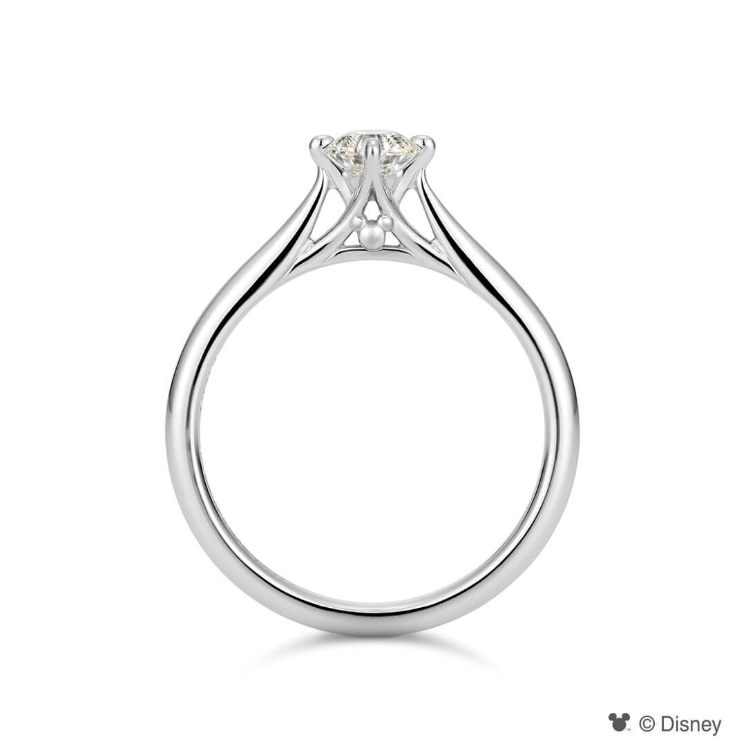 Mickey Mouse Solitaire Ring